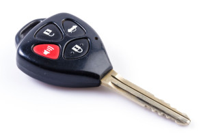 Keyless car keys