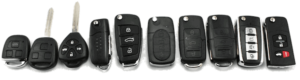 clés d'auto