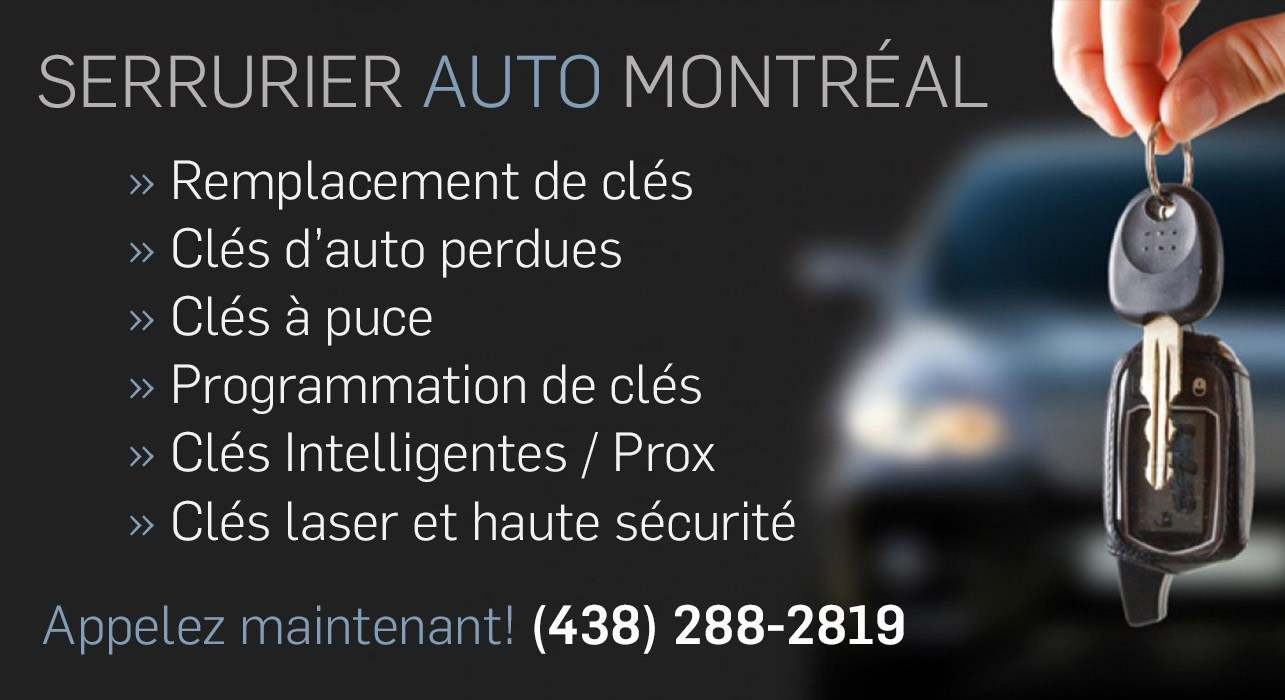 serrurier auto montreal