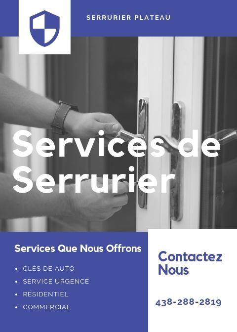 Services de Serrurier