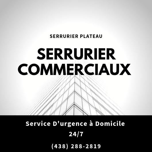 SERRURIER  COMMERCIAUX