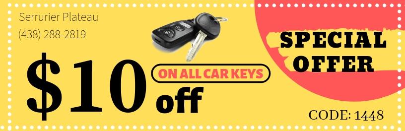 car key coupon