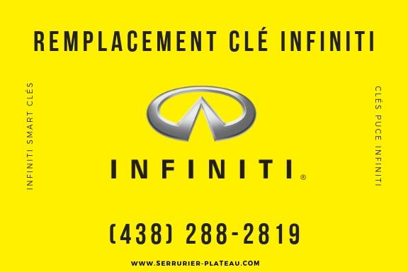 Remplacement Clé Infiniti