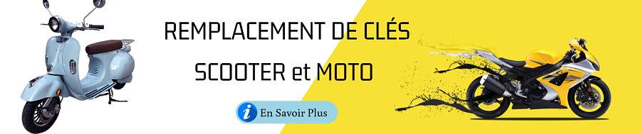 REMPLACEMENT DE CLÉS moto