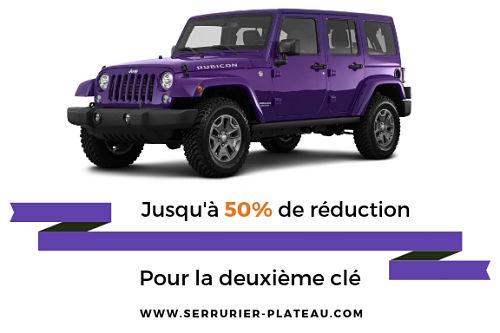 Remplacement de Clés Jeep