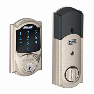 Schlage BE469NXCAM619 Camelot Touchscreen Deadbolt