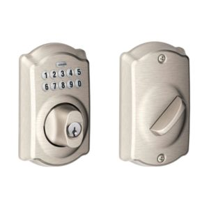 schlage electronic deadbolts