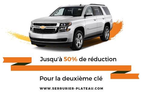 Remplacement De Clé Chevrolet